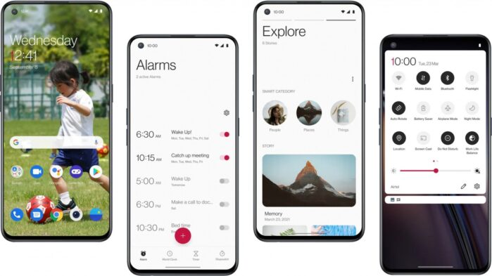 OnePlus Nord CE 5G interfaccia