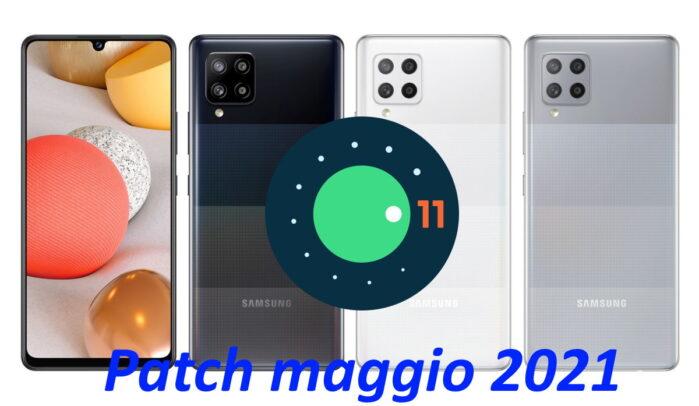 Samsung Galaxy A42 5G aggiornamento patch maggio 2021