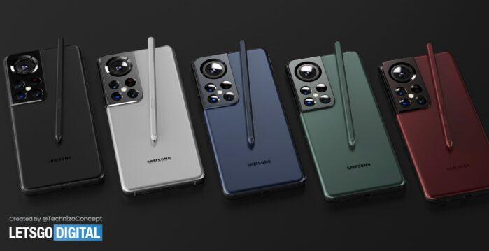 Samsung Galaxy S22 Concetto 3