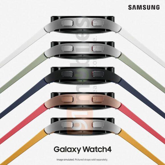 Samsung Galaxy Watch 4 design 2