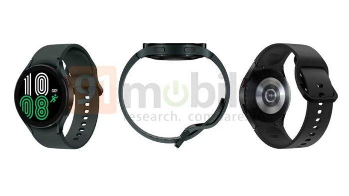 Samsung Galaxy Watch 4 design ufficioso