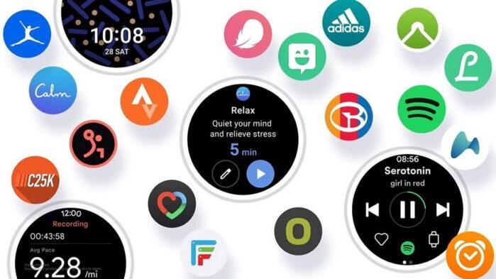 Samsung ONE UI Watch dettagli