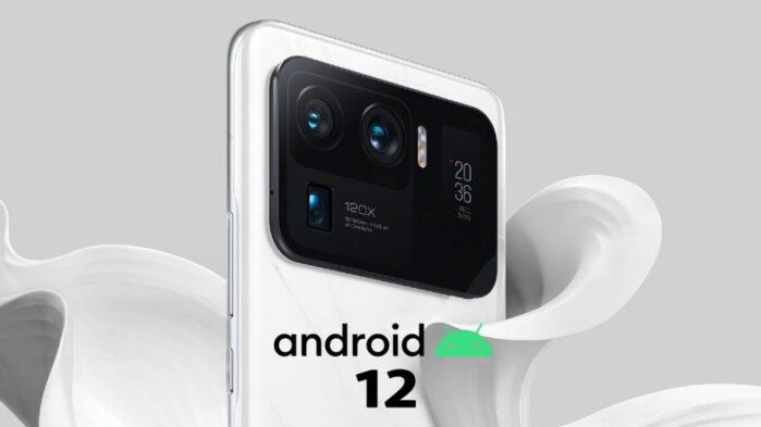 Xiaomi MI 11 Ultra Android 12 GeekBench