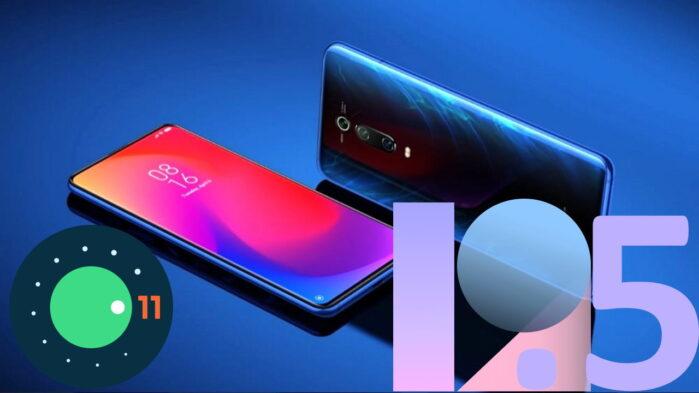 Xiaomi MI 9T Pro MIUI 12.5 e Android 11