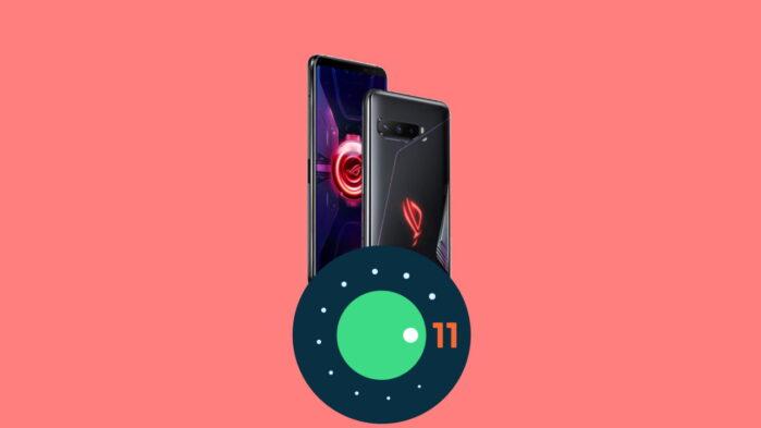 Asus Rog Phone 3 aggiornamento Android 11