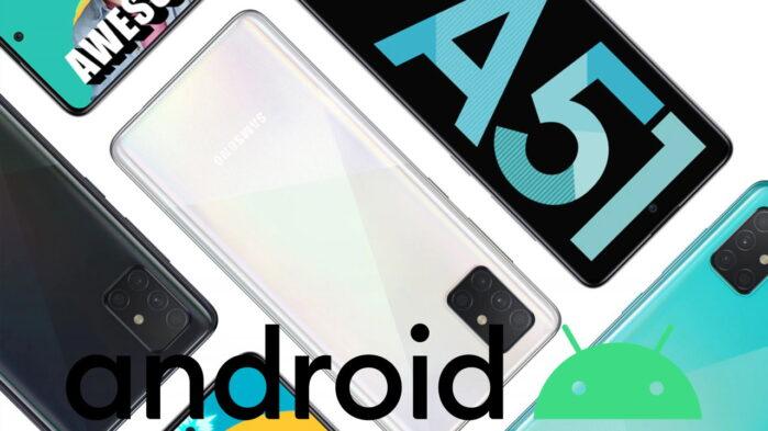 Galaxy A51 aggiornamento patch luglio 2021