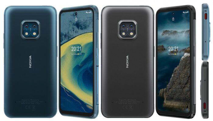 Nokia XR20 colori e design