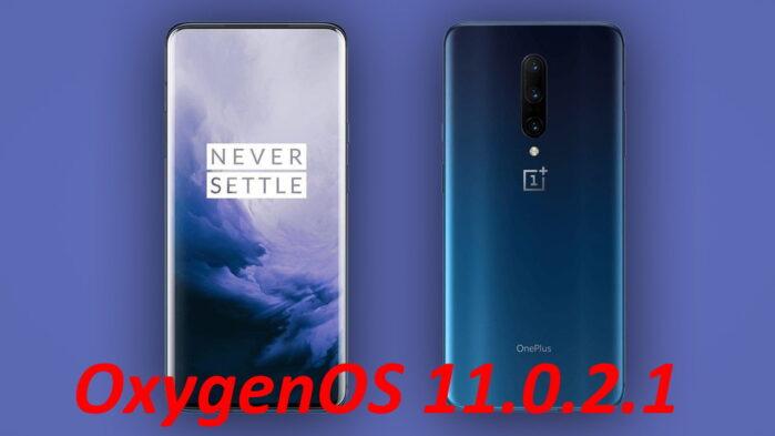OnePlus 7 e 7 Pro aggiornamento OxygenOS 11.0.2.1