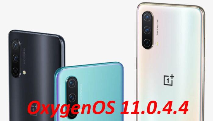 OnePlus Nord CE aggiornamento OxygenOS 11.0.4.4 iniziato
