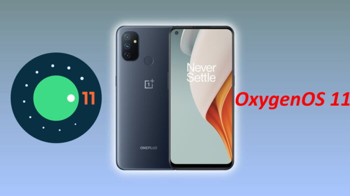 OnePlus Nord N100 Android 12 con OxygenOS 11
