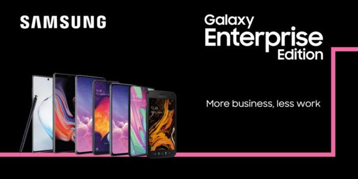 Samsung Galaxy Enterprise 5 anni di aggiornamento sicurezza