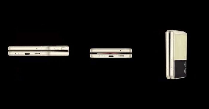 Samsung Galaxy Z Flip 3 5G design video