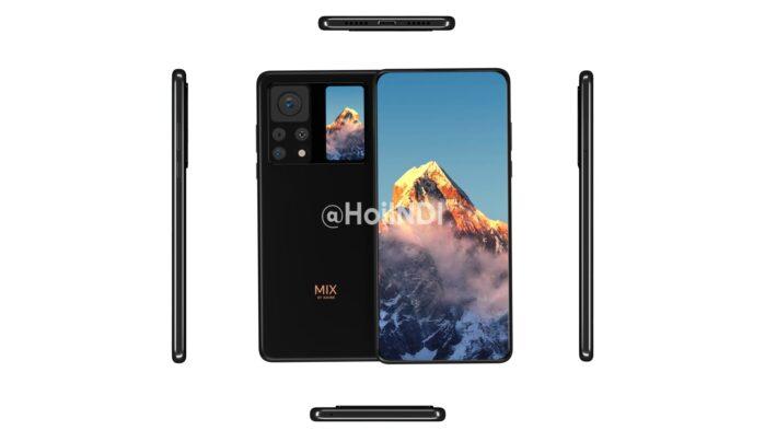 Xiaomi Mi Mix 4 design generale rumors