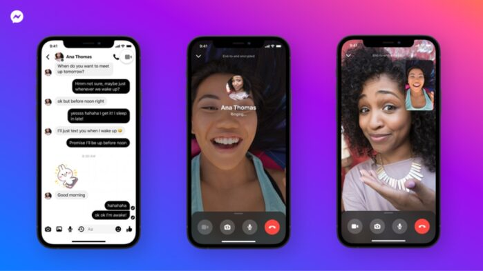 Facebook Messenger crittografia end-to-end video e audio chiamate