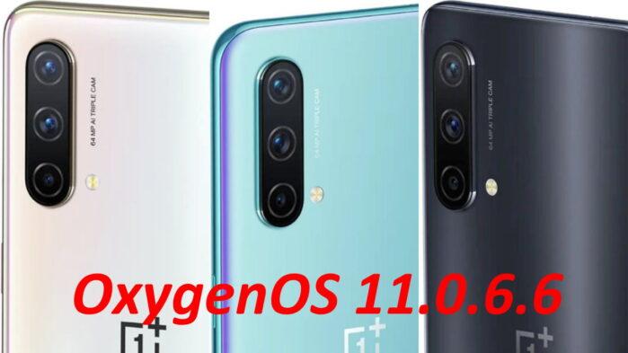 OnePlus Nord CE OxygenOS 11.0.6.6 novità