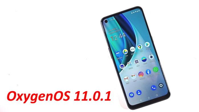 OxygenOS 11.0.1 OnePlus Nord N10 aggiornamento