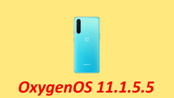 OxygenOS 11.1.5.5 OnePlus Nord aggiornamento
