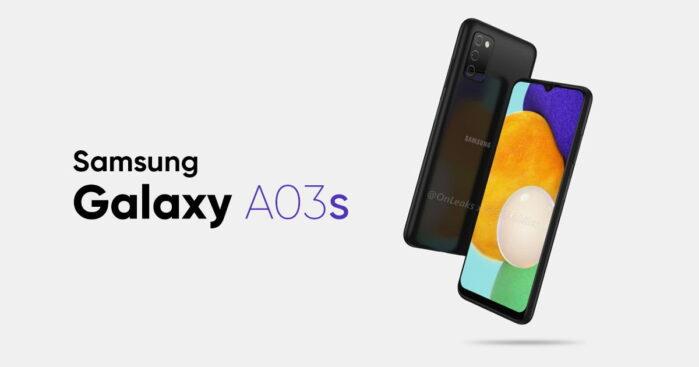Samsung Galaxy A03S ufficiale le caratteristiche