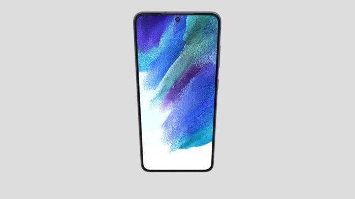 Samsung Galaxy S21 FE 3D video render