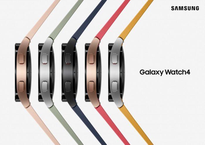 Samsung Galaxy Watch 4 colori cinturini