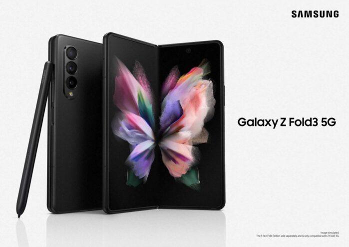 Samsung Galaxy Z fold 3 ufficiale