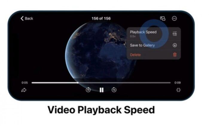 Telegram riproduzione video