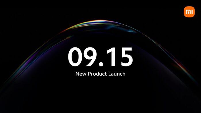 Xiaomi Mi 11T presentazione 15 settembre