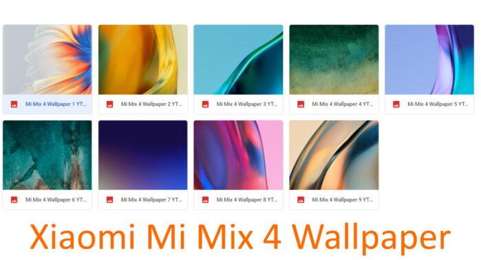 Xiaomi Mi Mix 4 scaricare sfondi