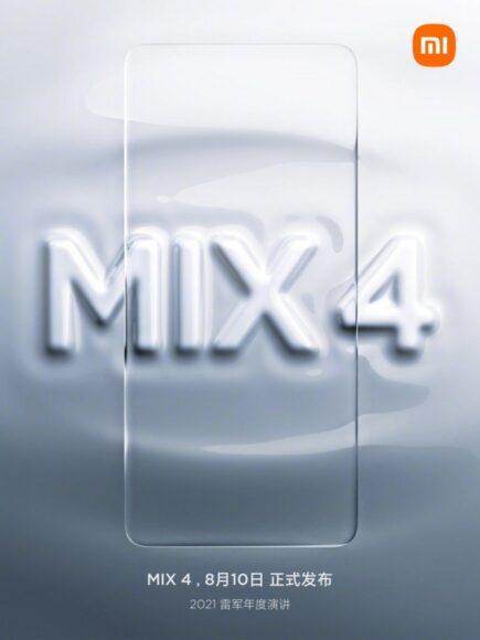 Xiaomi Mi Mix 4 teaser 1