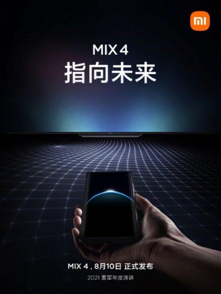 Xiaomi Mi Mix 4 teaser 2