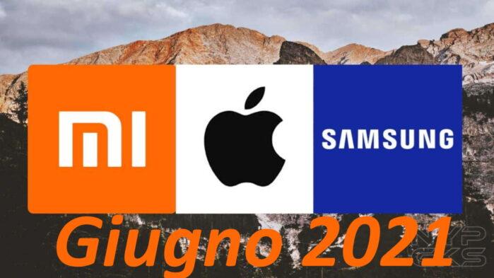 Xiaomi primo produttore mondiale di smartphone a giugno 2021