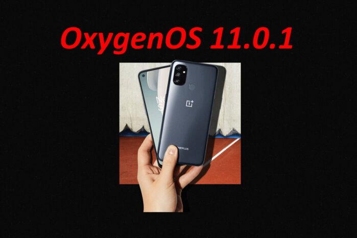 oneplus nord n100 aggiornamento OxygenOS 11.0.1