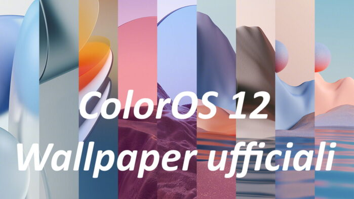 ColorOS 12 scarica gli sfondi ufficiali