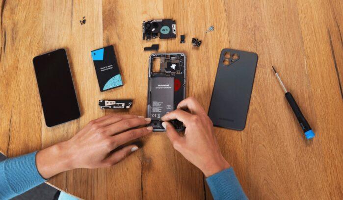 FairPhone 4 ufficiale con design hardware modulare