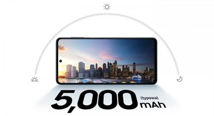 Galaxy M52 5G batteria