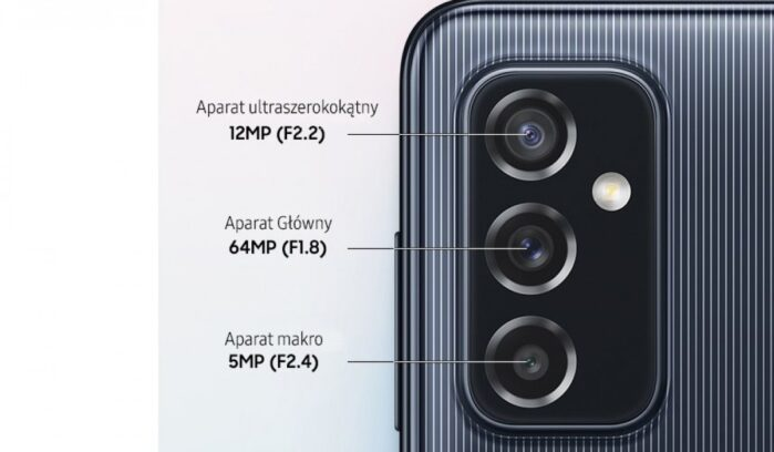Galaxy M52 5G fotocamere