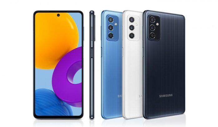 Galaxy M52 5G ufficiale design e colori