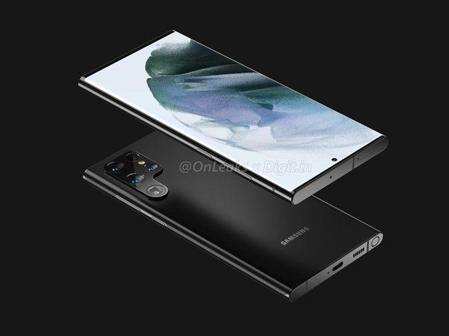Galaxy S22 Ultra con S pen design 1