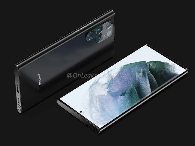 Galaxy S22 Ultra con S pen design 2