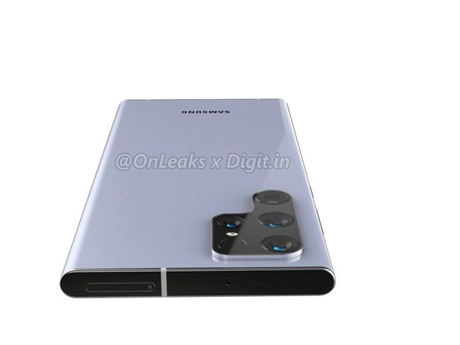 Galaxy S22 Ultra con S pen design 3