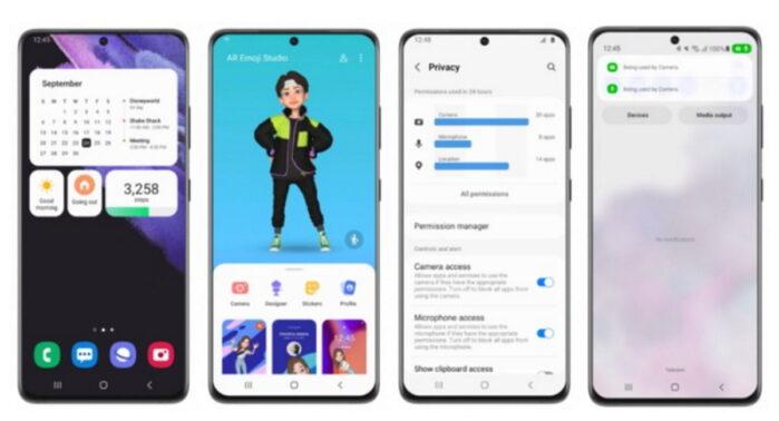 One UI 4.0 Beta con Android 12 rilasciata da Samsung le novità