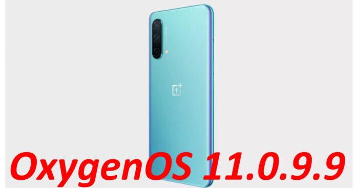 OnePlus Nord CE OxygenOS 11.0.9.9