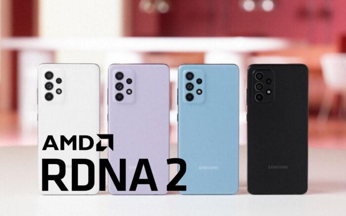 Samsung Galaxy A 2022 con chipset Exynos AMD RDNA2