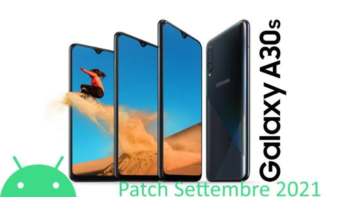 Galaxy A30S Galaxy A50 e A51 Galaxy M51 aggiornamento settembre 2021