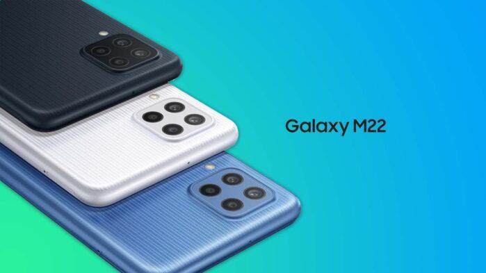 Samsung Galaxy M22 colori