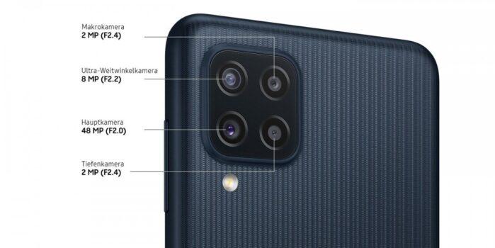 Samsung Galaxy M22 fotocamera posteriore