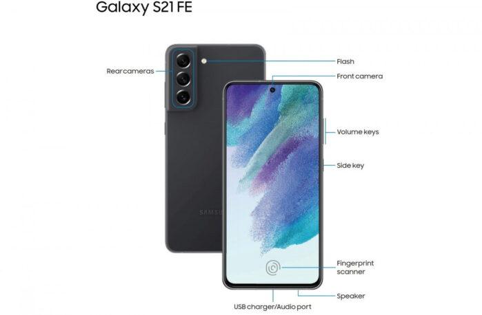Samsung Galaxy S21 FE tre difetti manuale utente