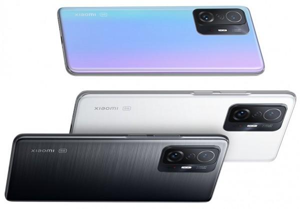 Xiaomi 11T e 11T Pro design colori