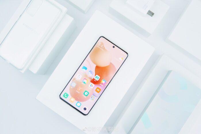 Xiaomi Civi Design top