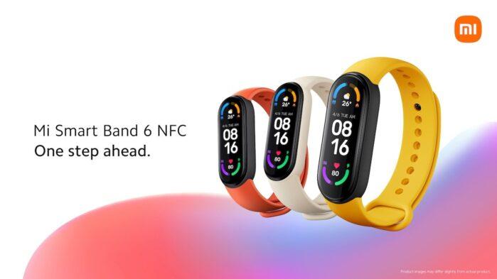 Xiaomi MI Smart Band 6 NFC Italia prezzo